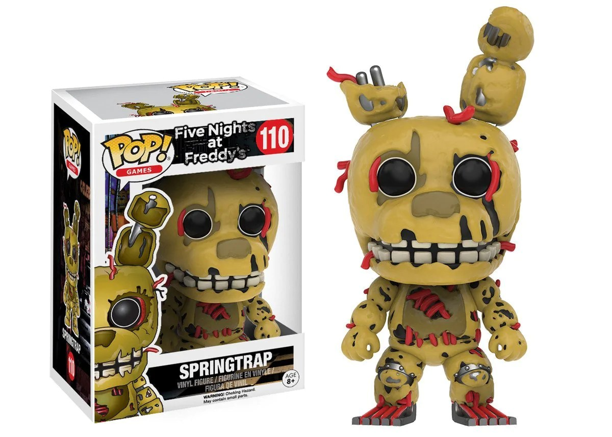 2048 Fnaf Funko Pop Games Five Nights At Freddys Springtrap