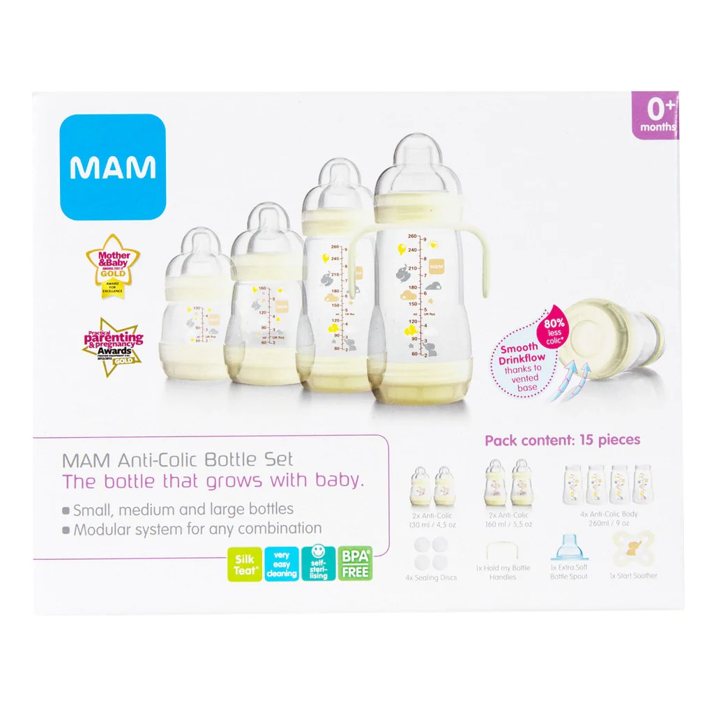 Baby Starterset Mam Easy Start Anti Colic Starter Set 15 Pieces