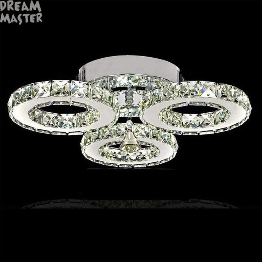 Lampen Led Modern Lustre Led Crystal Chandelier Lighting Ceiling Chandeliers Light Lamparas De Techo Hanglamp Suspension Luminaire Lampen