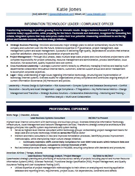 vp communications sample resume