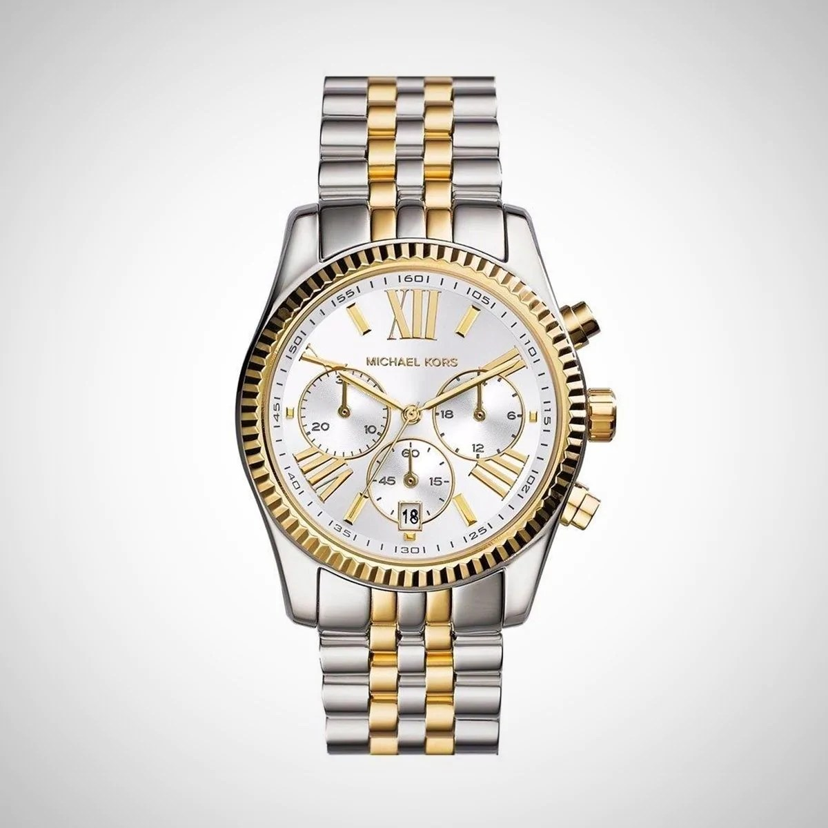 Chronograph Damen Uhr Michael Kors Mk5955 Lexington Damenuhr Chronograph