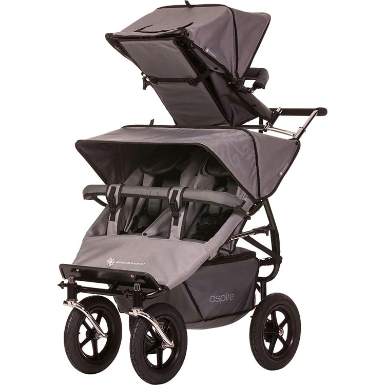 Newborn Toddler Double Pram Aspire Twin Buggy Solo Accessory Seat Triple Stroller