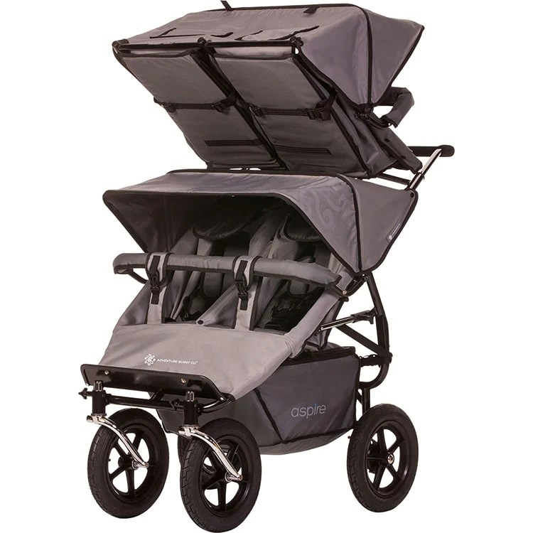 Aspire Triple Stroller Aspire Twin Buggy Duolo Accessory Seat Quad Stroller