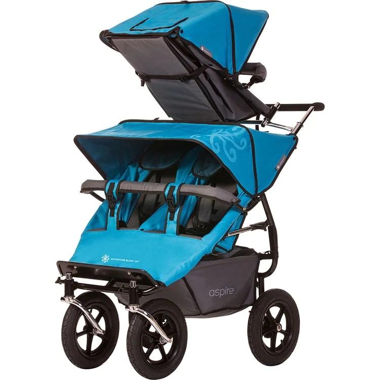 Twin Stroller Usa Aspire Twin Buggy Solo Accessory Seat Triple Stroller