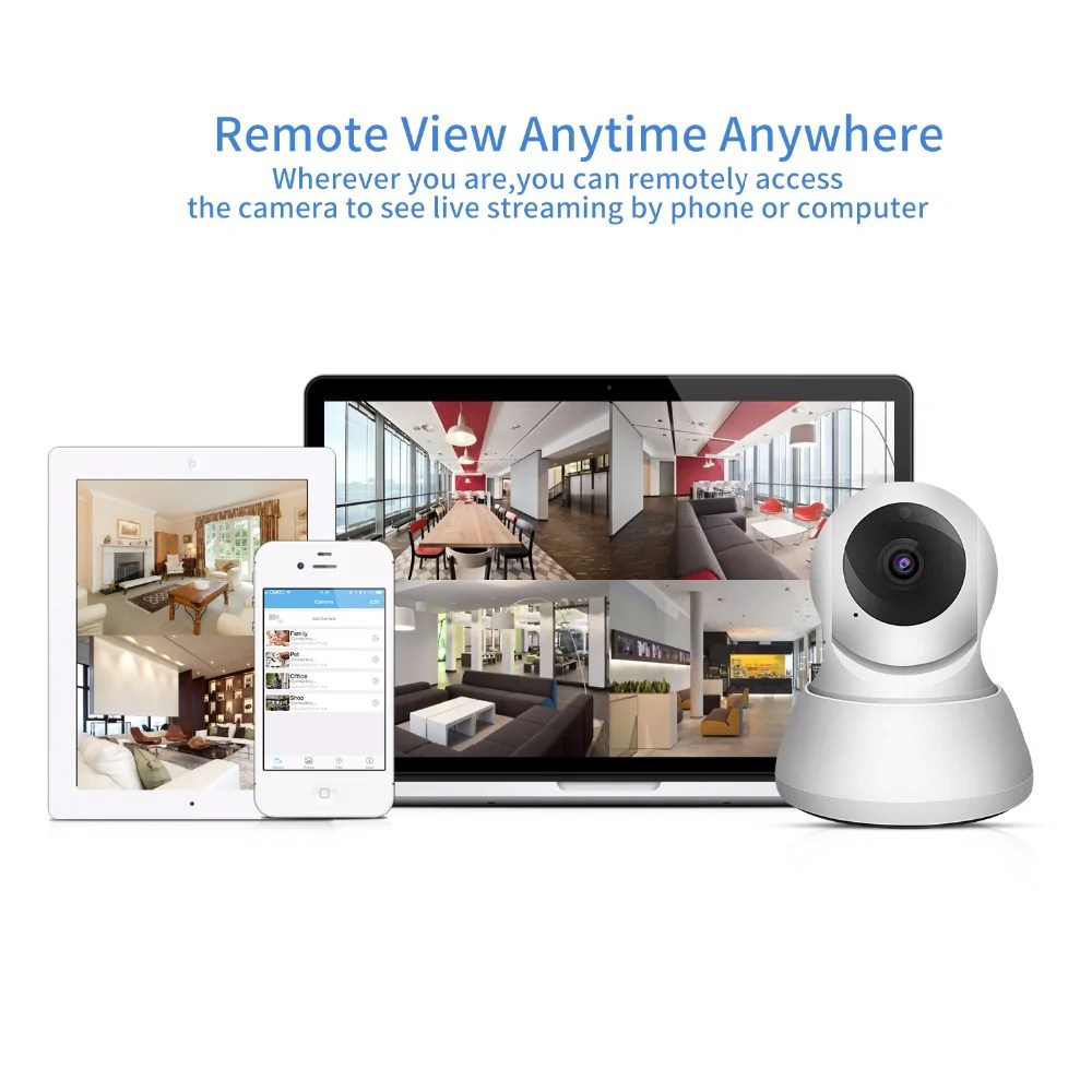 Cctv Home Sdeter Home Security Ip Camera Wi Fi 1080p 720p Wireless Network Camera Cctv Camera Surveillance P2p Night Vision Baby Monitor