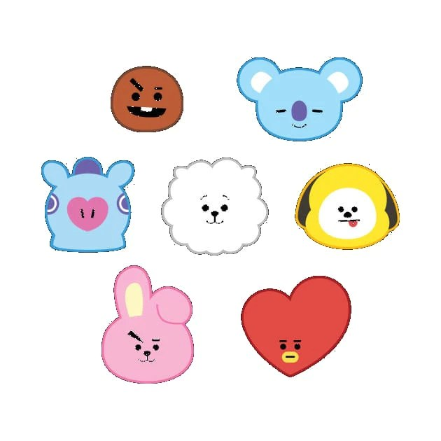 Anime Wallpaper Cute Gif Bt21 Merchandise Created By Bts Bts Mania Shop Bts
