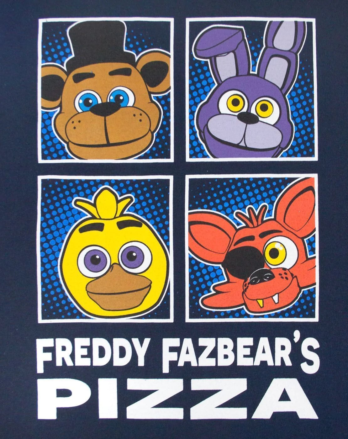 2048 Fnaf Five Nights At Freddy S Panels Boy S T Shirt Noisy Sauce Live