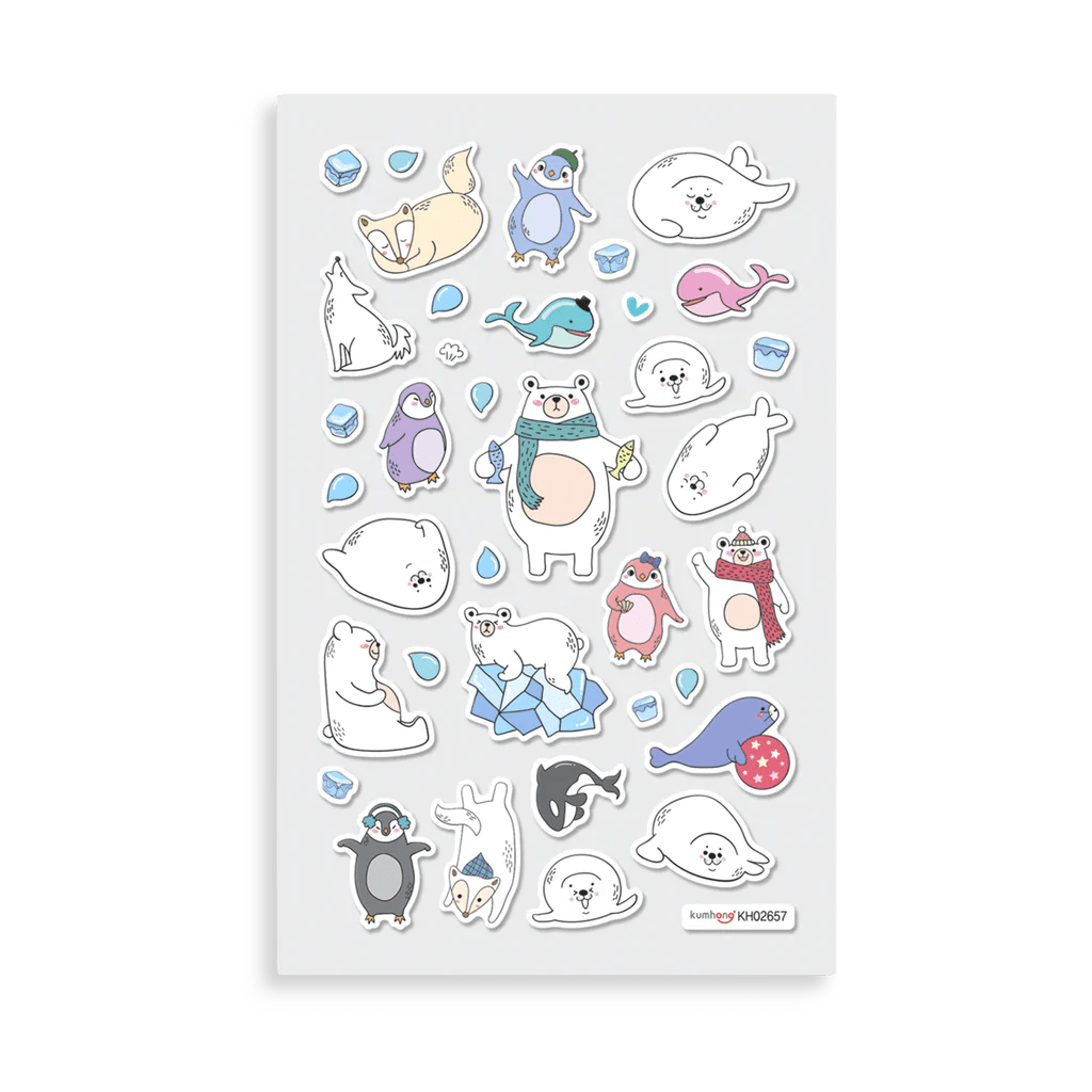Cute Stickers For Facebook Itsy Bitsy Super Cute Stickers Arctic Antics