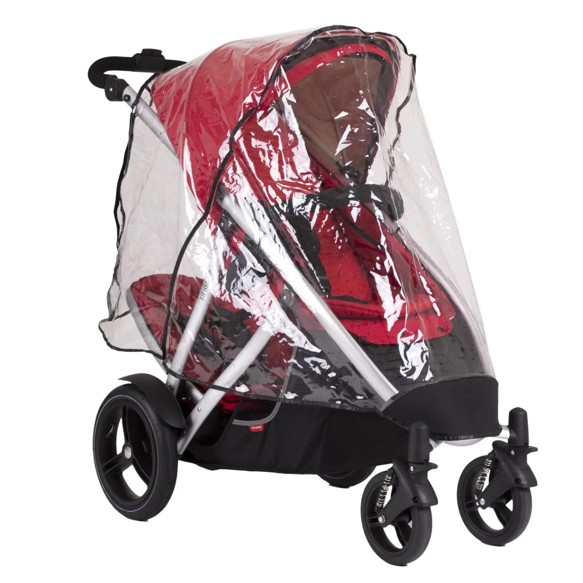 Phil And Teds Double Buggy Vibe Phil Teds Vibe Verve Double Storm Cover