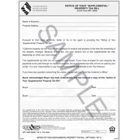 """SPT - Notice of Your """"Supplemental"""" Property Tax Bill  C ..."""