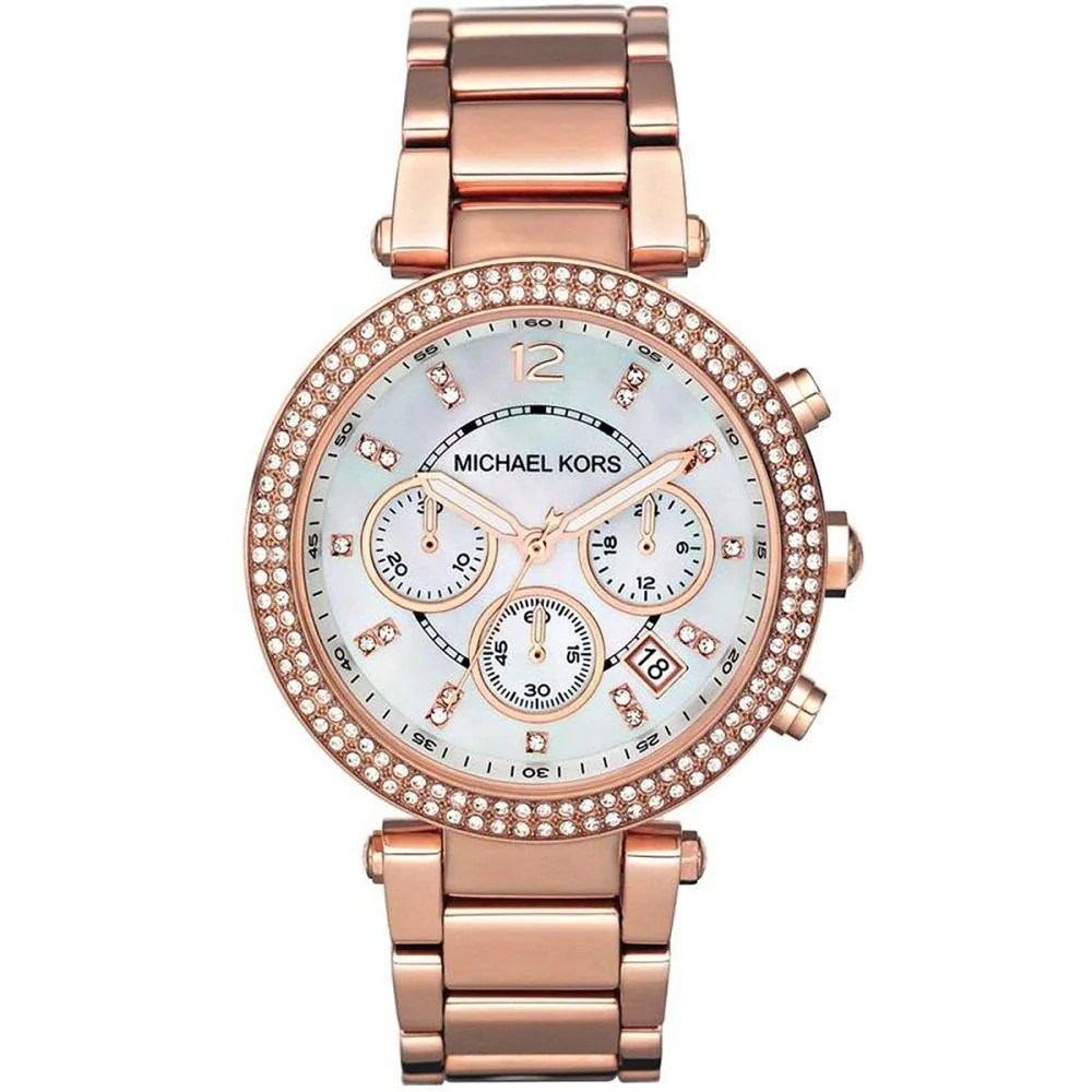 I Watch Ladies Michael Kors Ladies Parker Chronograph Watch Mk5491 Jb Watches