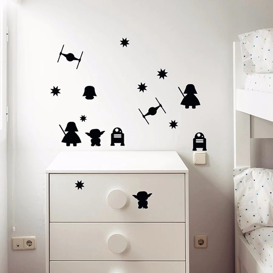 Chambre Enfant Star Wars Stickers