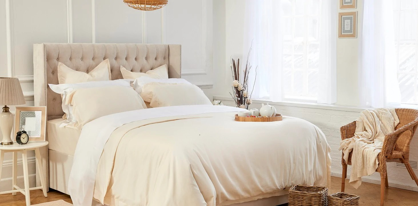 Cotton Bed Linen Sale Luxury Organic Ethically Sourced Bedding 100 Cotton Nour Luxury