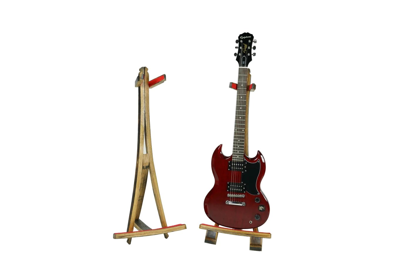 Brewdog Guitar Stand Wood Shop The Home Of Upcycled Handmade Wood Products