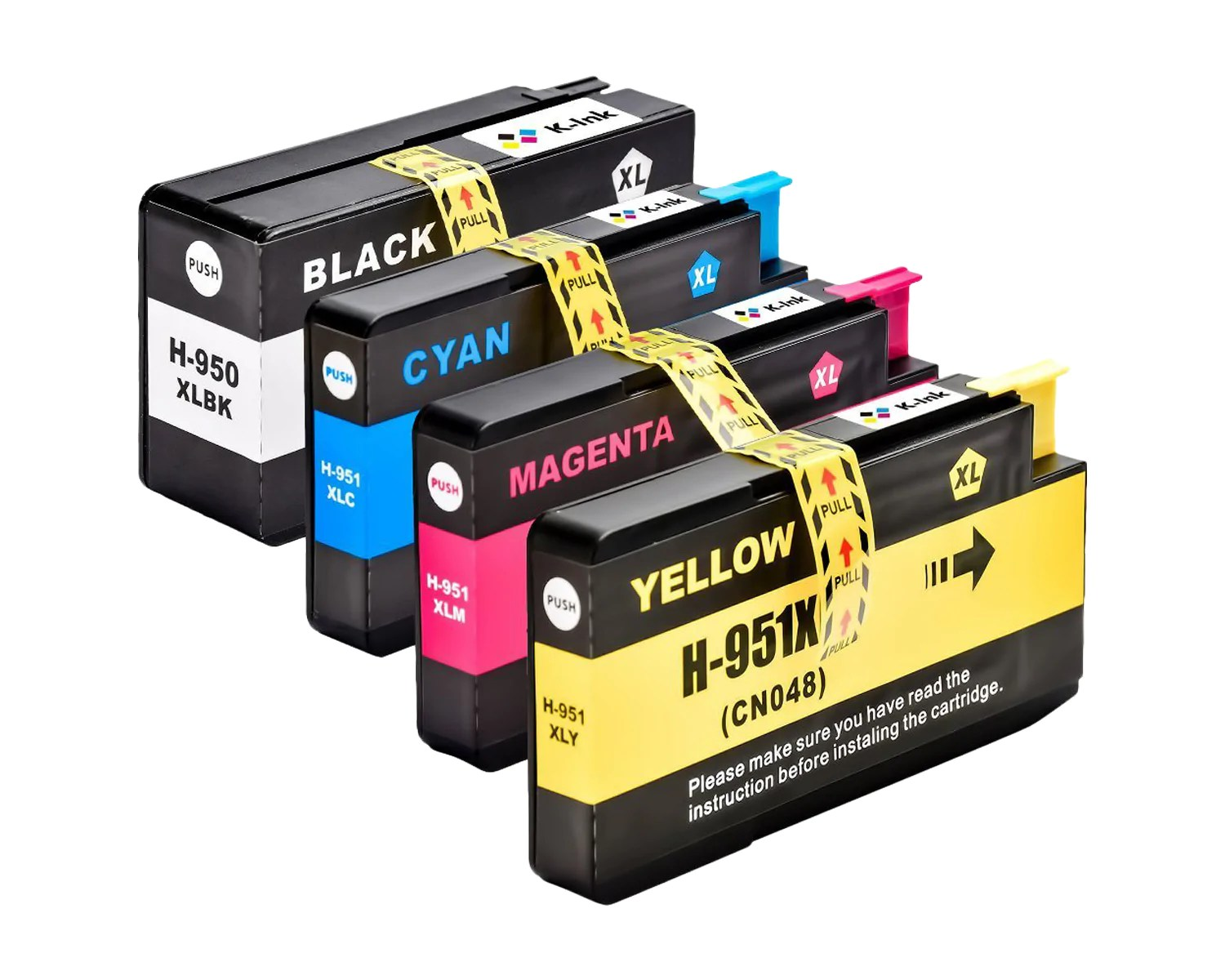 950 Ink 4 Pack Compatible Ink Cartridges Replacement For Hp 950xl 951xl B