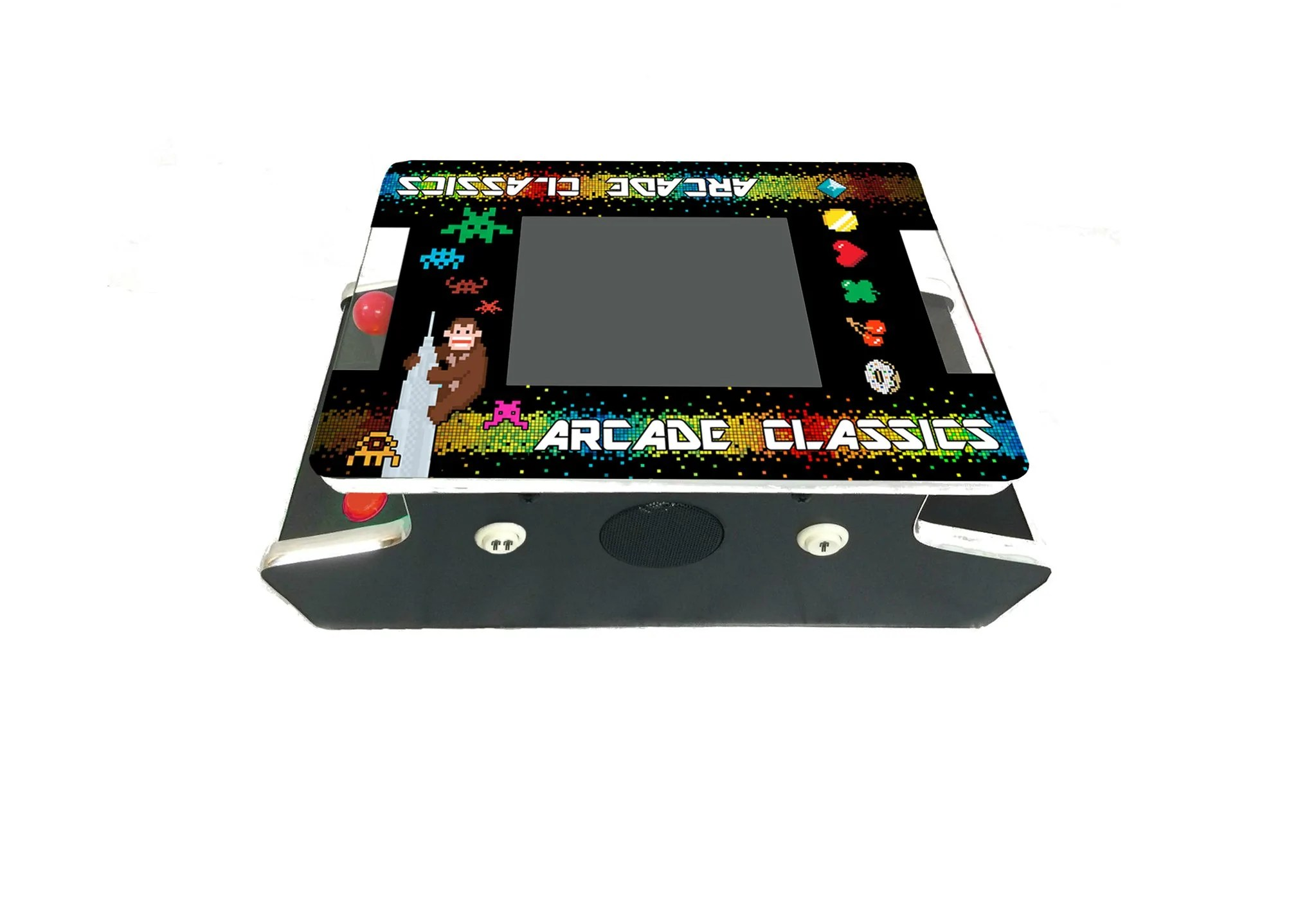 Classic Table Arcade Games Mini Cocktail Table Arcade With 412 Classic Golden Age Games