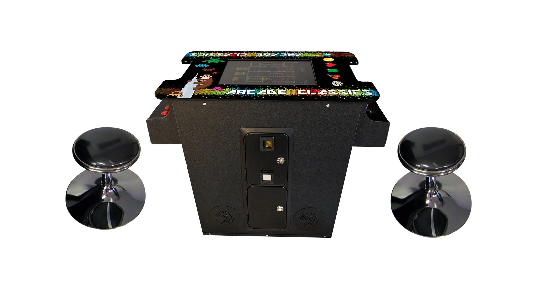 Classic Table Arcade Games Full Sized Cocktail Table Arcade With 60 Classic Games