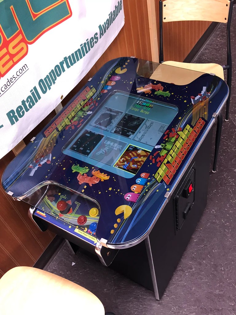 Classic Table Arcade Games Flashback Arcades 60 In 1 Multicade Cocktail Tables Featuring All The Classic Arcade Games From The 80 S