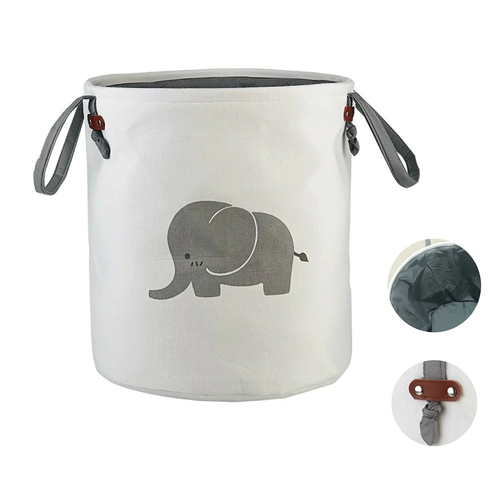 Cute Laundry Hamper Elephant Laundry Basket Cute Laundry Bags Eco Friendly Small Hamper Unicorn Whale Cat