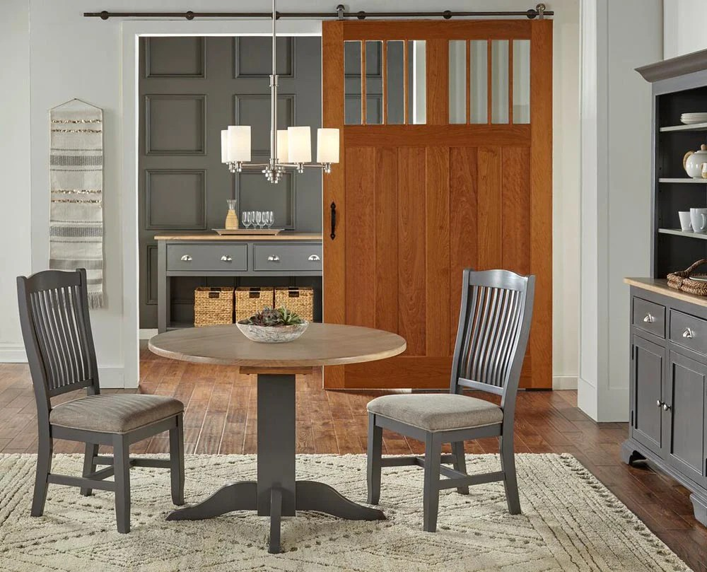 A America Port Townsend 7 Piece Trestle Dining Room Set W