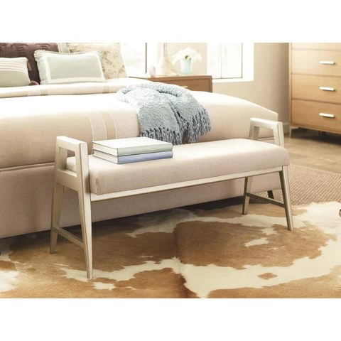 Legacy Rachael Ray Hygge Bed Bench In Cashmere Beyond Stores