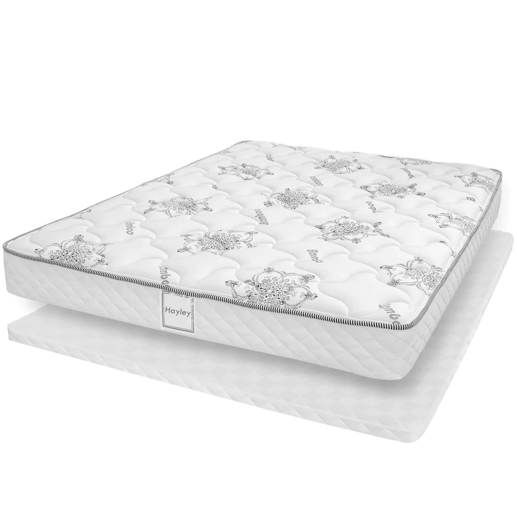 Quel Sommier Pour Matelas Ressort Set Mattress And Box Collection Hayley Double