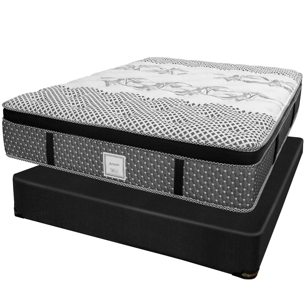 Lit Complet Tania Set Mattress And Box Collection Anson Double
