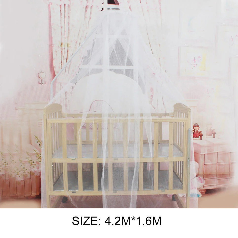 Bed Gordijn Kind Kids Baby Bed Draagbare Luifel Bedcover Klamboe Gordijn Beddengoed Dome Tent Crib Mosquito Mesh Netto
