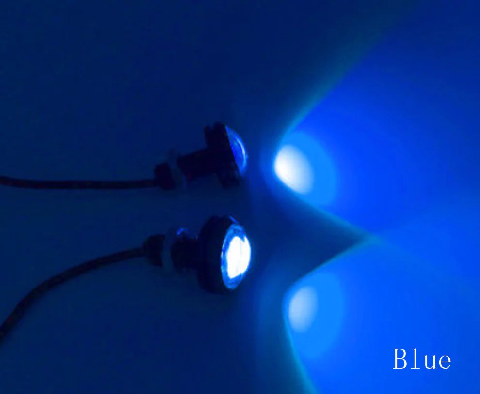 2 Pc Blauw Groen Wit Rood Led Boot Plug Licht Garboard Messing - Boot Verlichting Groen Rood