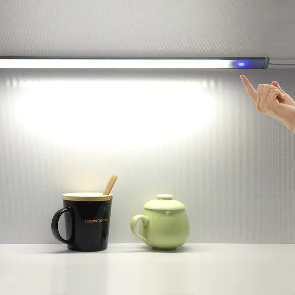 Led Balk Badkamer Usb Touch Sensor Strip Dimbare Led Bar Lamp Onder Plank Bureaulamp