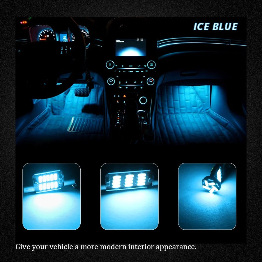 Led Interieur Auto Wolflamp 15 Stks Canbus Wit Ice Blue Led Interieur Auto Verlichting Voor 2008 Land Rover Lr2 Kaart Licht Dome Lamp Nummerplaat Lamp