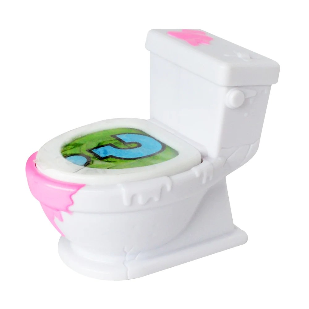 Korte Toiletpot Wc Flush Wc Monster Elf Serie Van Kleur Dozen Wc Prullenbak