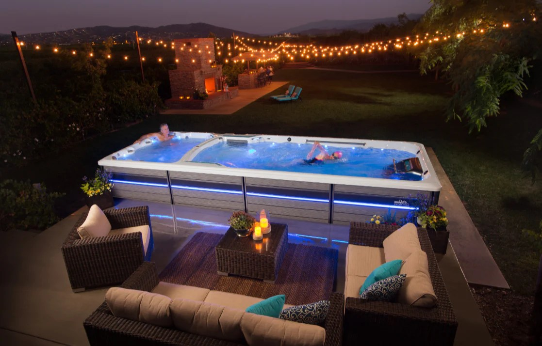 Jacuzzi Endless Pool The Benefits Of An Endless Pool Fitness System Are Endless