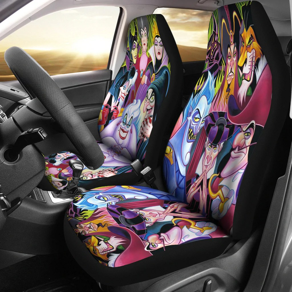 Where Can I Find Seat Covers Disney Villains Car Seat Covers