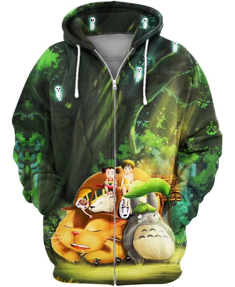Camo Hoodie Friends Friends In The Forest Zip S