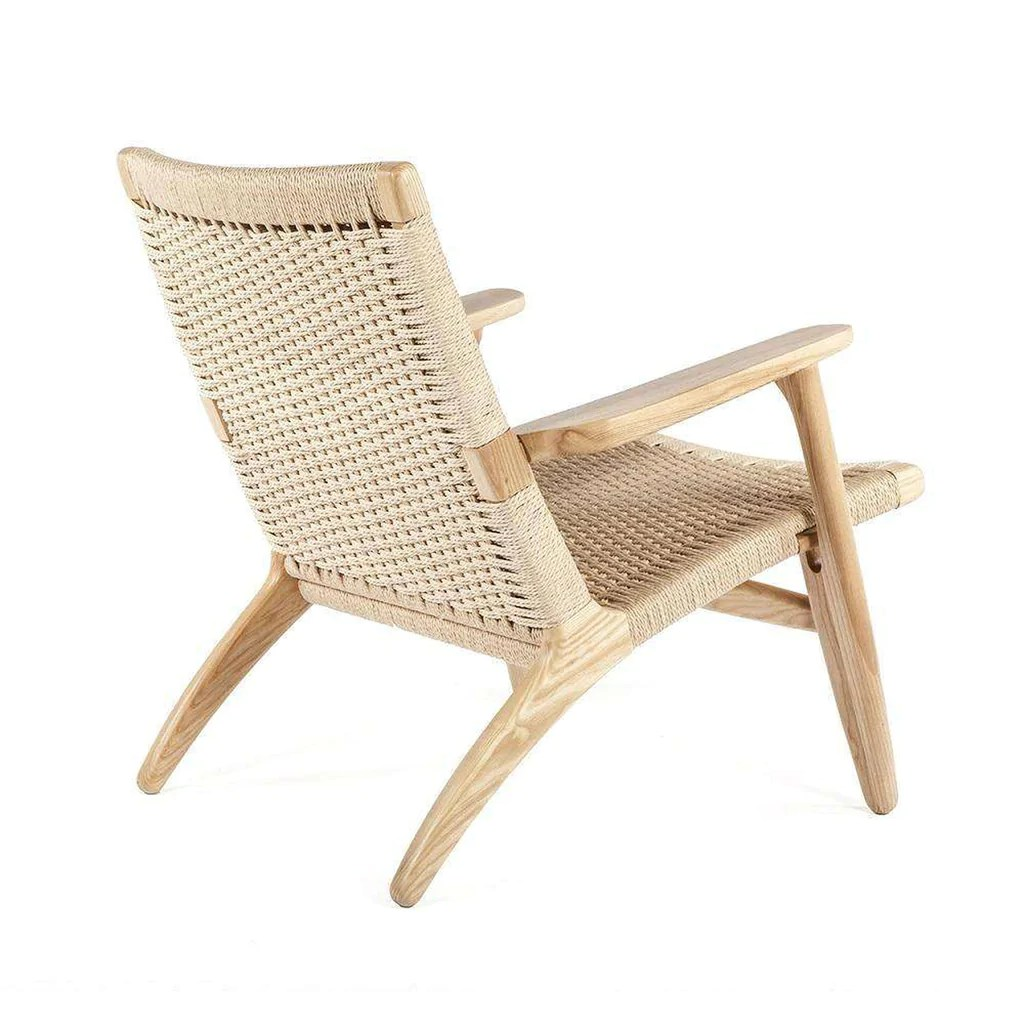 Lounge Chair Mid Century Modern Reproduction Ch25 Lounge Chair Inspired By Hans