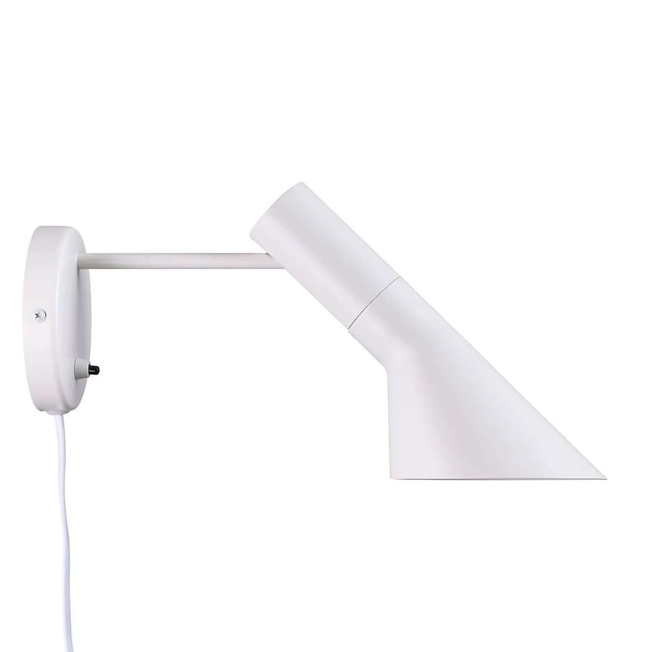 Arne Jacobsen Wall Sconce Mid Century Modern Reproduction Aj Wall Sconce White Inspired By