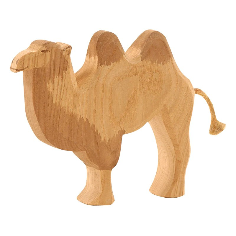 Camel Without Saddle Wild Animals Ostheimer Wooden Toys