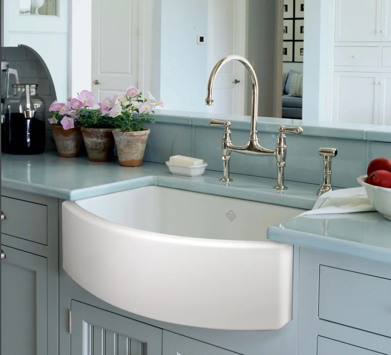 Shaw Farmhouse Sink Reviews Rohl Shaws 30