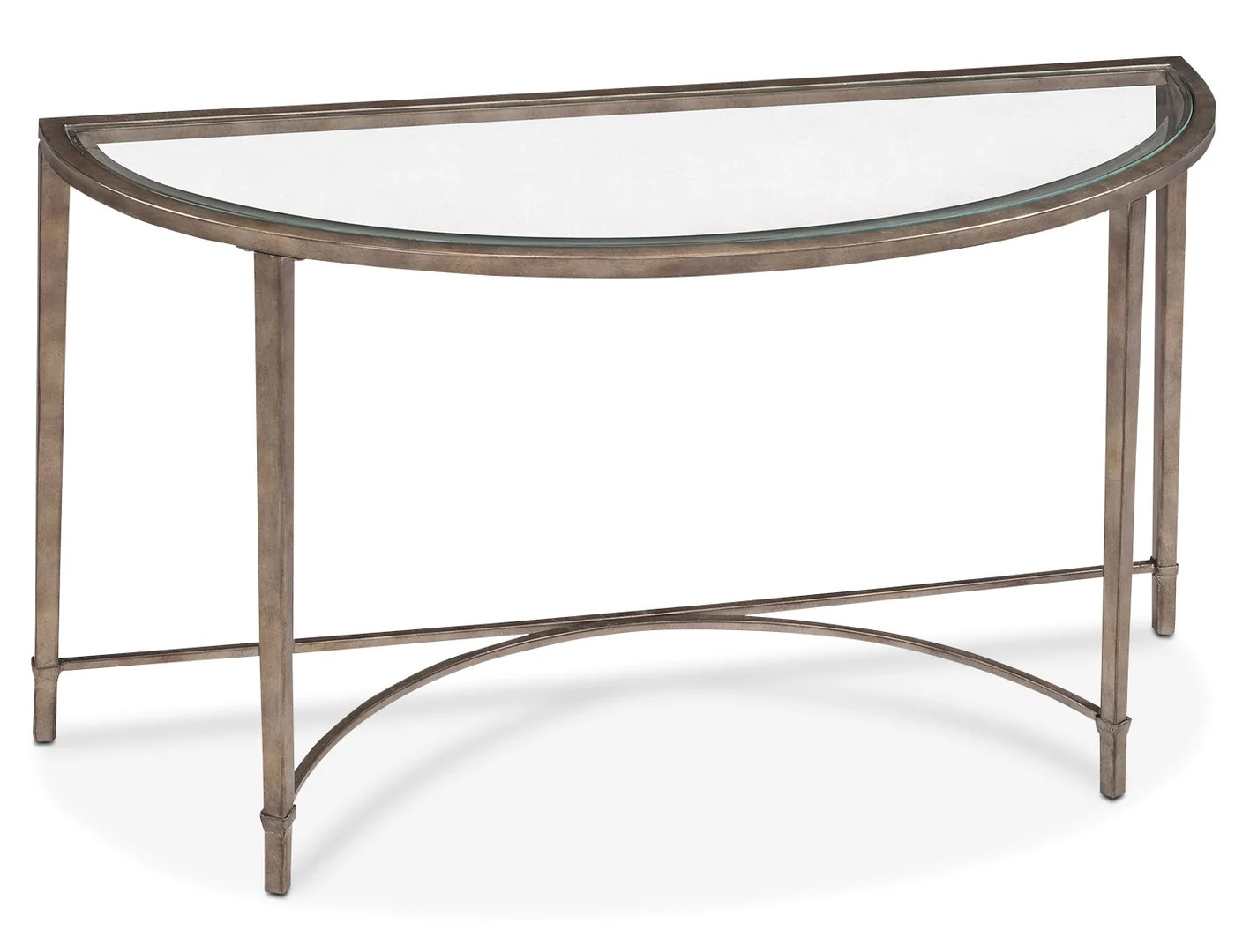 Table Metal Et Verre Copia Sofa Table Glass And Gold