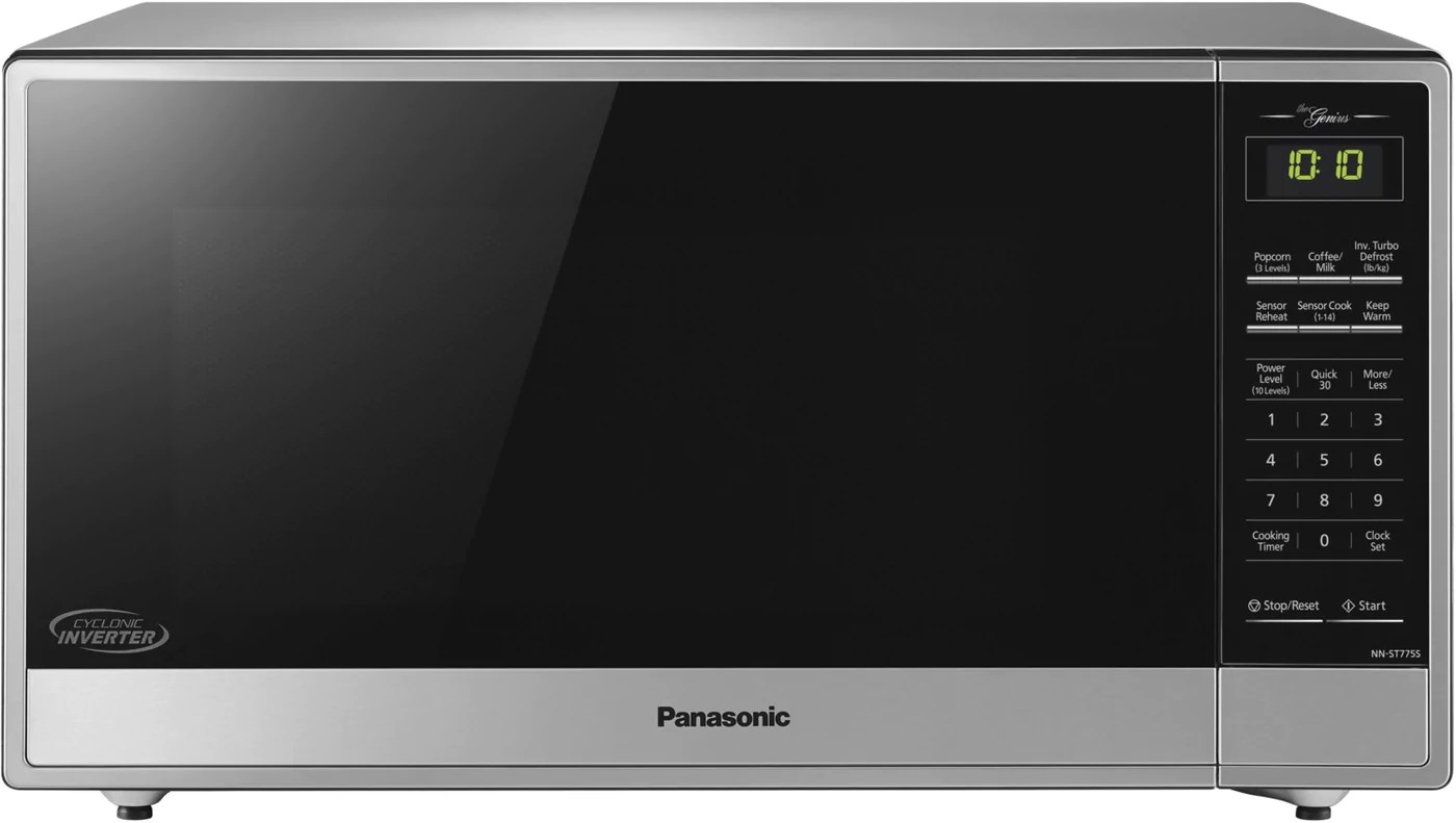 Panasonic Stainless Steel Countertop Microwave 1 6 Cu Ft Nnst775s Leon S