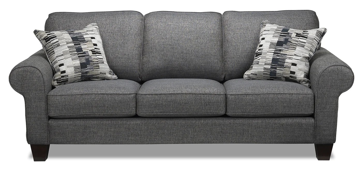 Brick Meubles Divan Lit Drake Sofa Grey