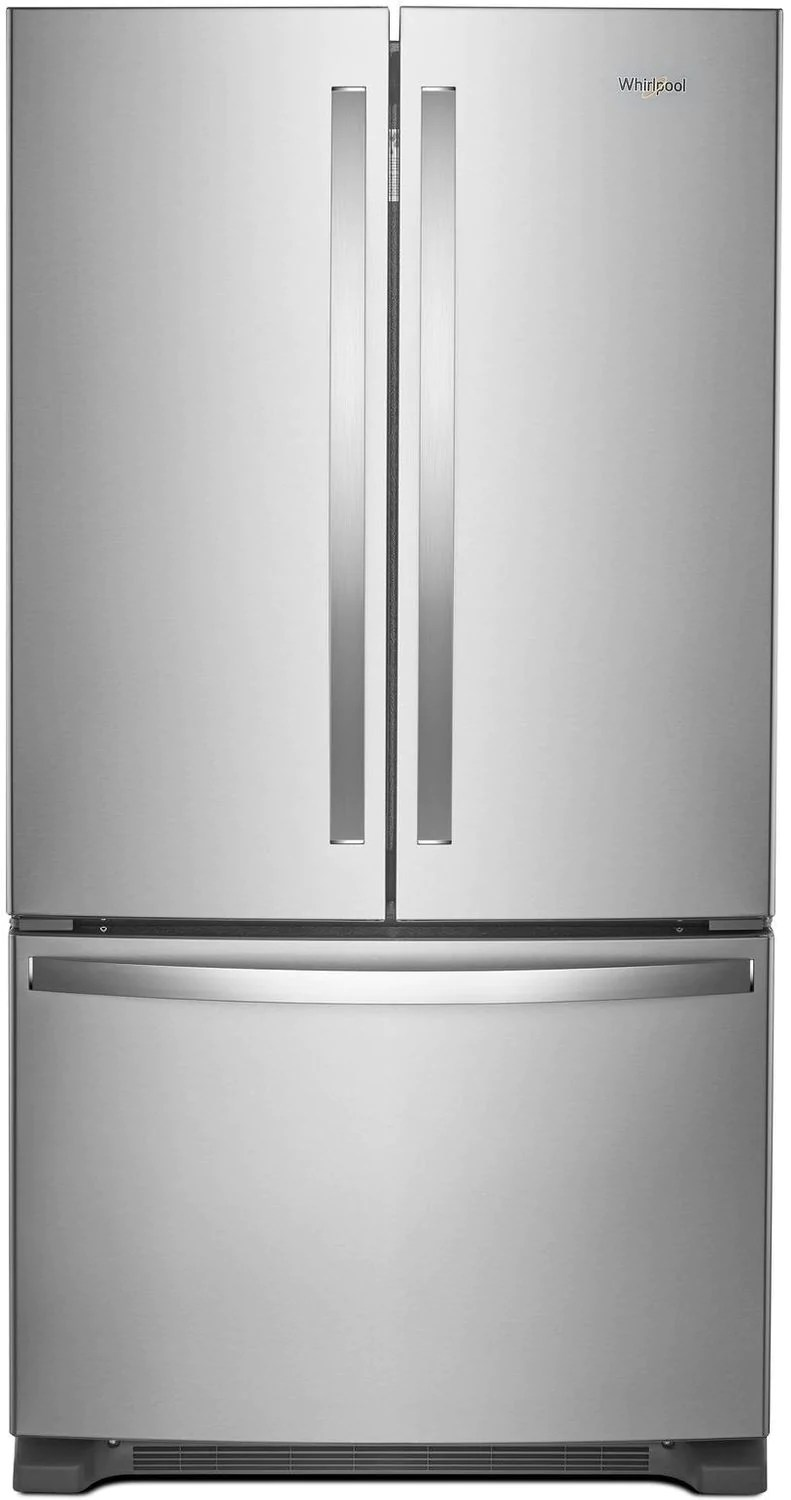 Refrigerateur 1 Porte Inox Whirlpool Stainless Steel Counter Depth French Door Refrigerator 20 Cu Ft Wrf540cwhz