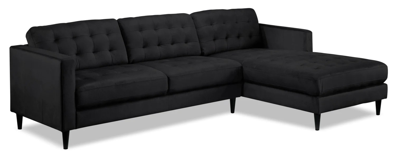 Sectional Sofa Kijiji Halifax Paragon 2 Piece Sectional With Right Facing Chaise Charcoal