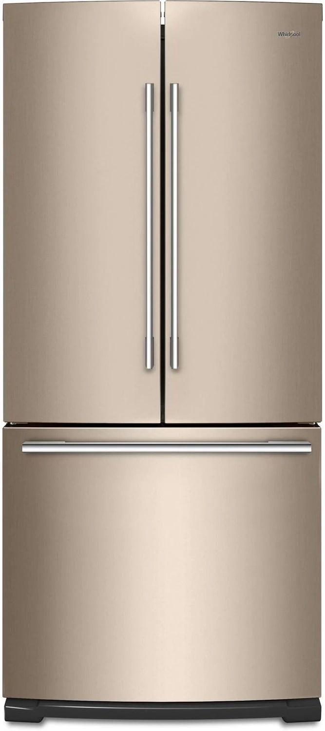 Whirlpool Appliances Canada Whirlpool Sunset Bronze French Door Refrigerator 20 Cu Ft Wrfa60smhn