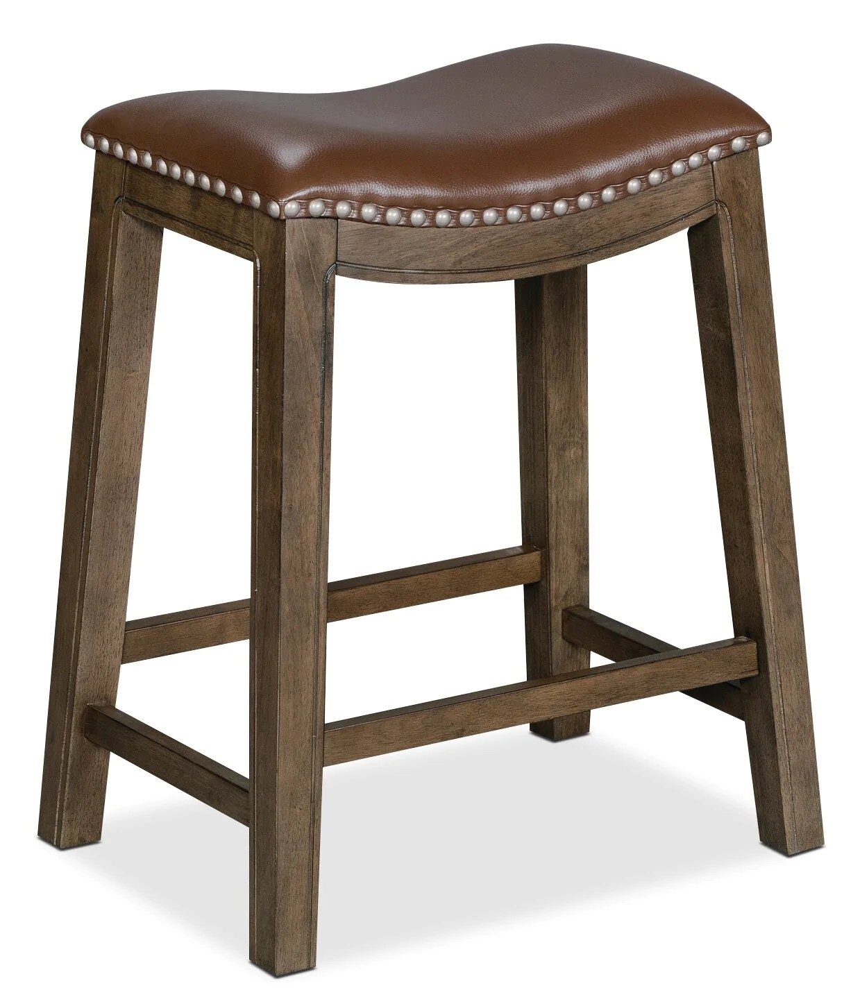 Cale Counter Height Bar Stool Brown The Brick
