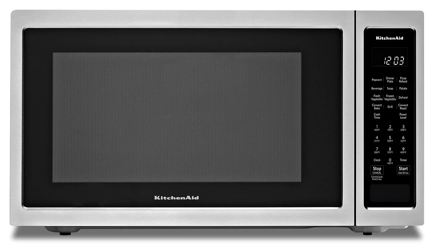 Kitchenaid Countertop Convection Microwave Oven Kmcc5015gss The Brick