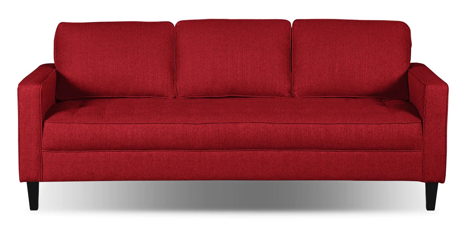 Bettsofa Xenia Cherry Sofa Coastal Style Bed Simmons Sofas Jennifer Leather