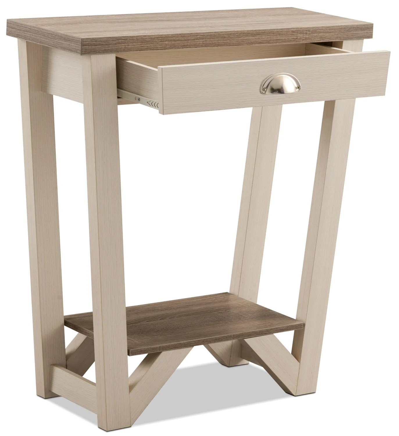 Console De Table Arika Console Table Ivory