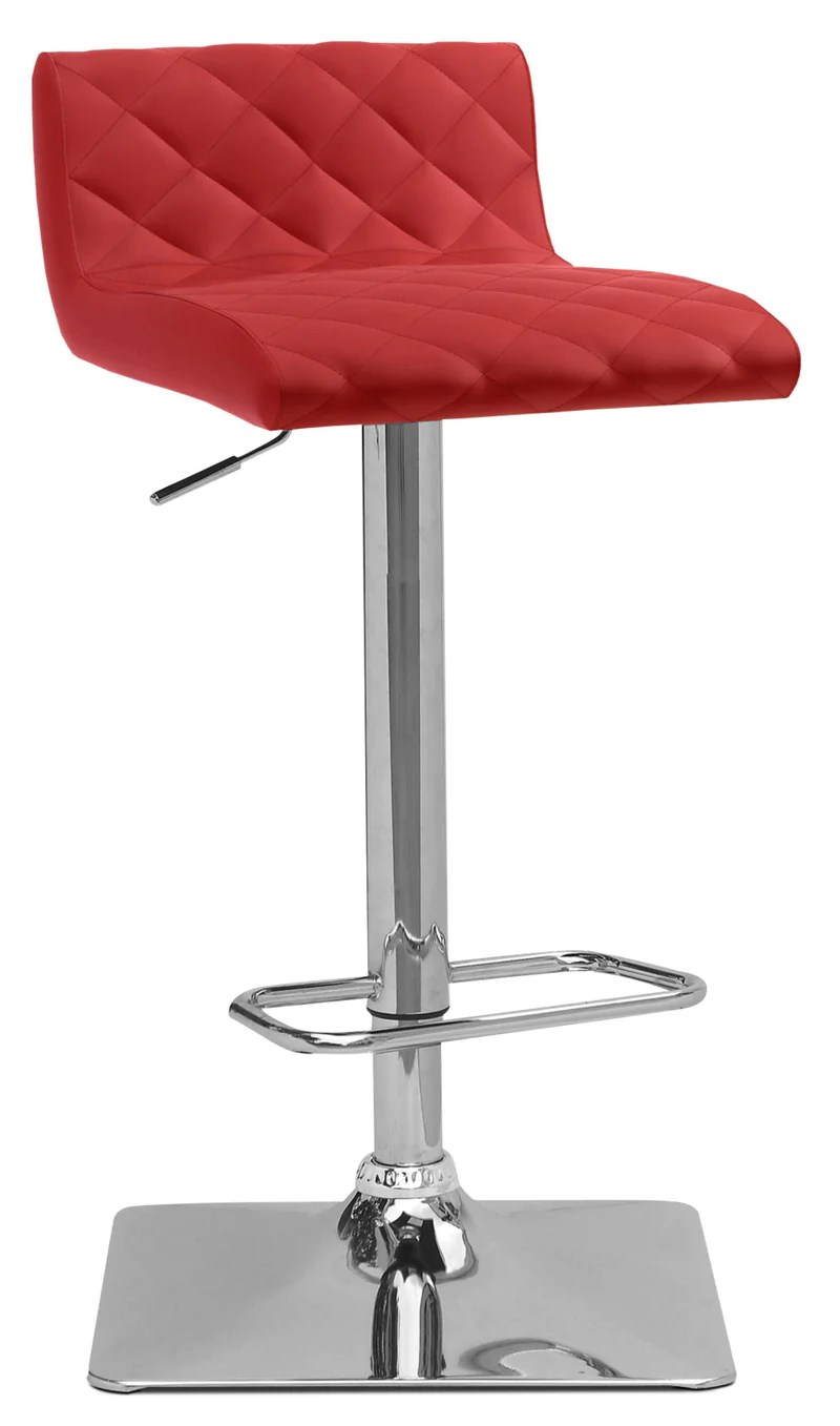 Tabouret Bar Reglable Tabouret Bar Réglable Coen Rouge